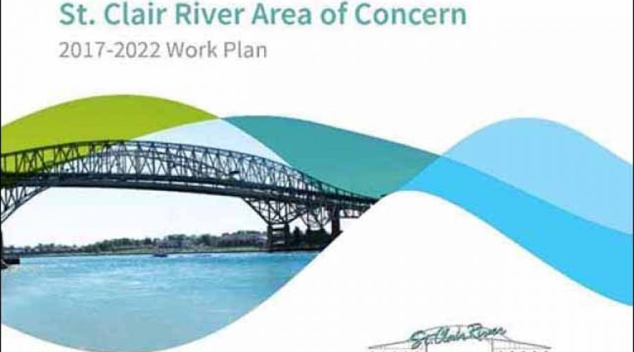 St. Clair River Area of Concern 2017-2022 Work Plan